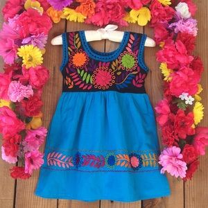 Other - CLEARANCE ! Mexican hand embroidered dress size 3T